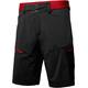 Salewa Pedroc Cargo 2 DST Pantaloni corti Uomo grigio/rosso